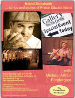Island Songbook with Michael Pendergast @ Gallery 18
