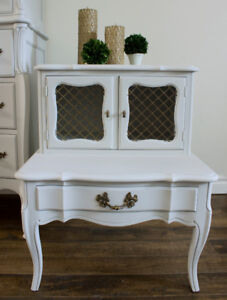 French Provincial side table / end table