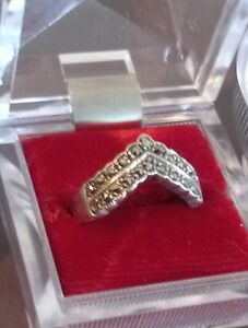 FOUR DAYS LEFT...GREAT VINTAGE SILVER RING...MARKED