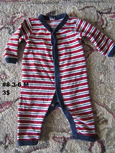 Baby girl clothes 0 to 3 months. Sleepers. London Ontario image 5