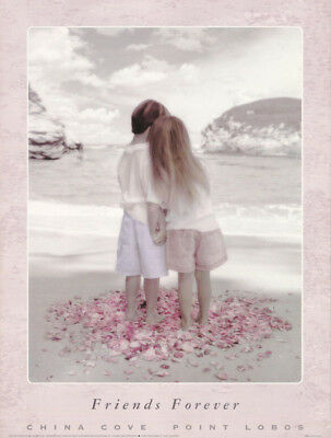 SMALL POSTER:PHOTO: FRIENDS FOREVER - YOUNG BOY & GIRL - FREE SHIP #PH577  RC4 S ()