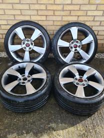 "Subaru Impreza STI 330s 18"" alloy wheels"