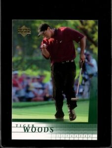 TIGER WOODS - 2001 Upper Deck RC - ungraded+GRADED - 8 different