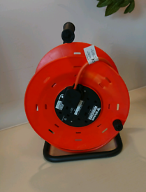 Extension reel with 40metres cable NEW