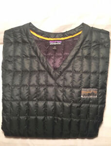 PATAGONIA MEN'S PACKABLE DOWN PULLOVER Size XXL SWEATER