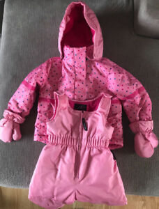 **PINK THINSULATE SNOWSUIT FOR SALE-SIZE 18 MONTHS**