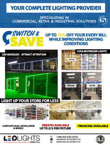 UpgradeLED Lights for Convenience, Variety Store & Gas Stations