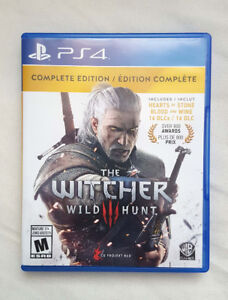 The Witcher 3 Wild Hunt Complete Edition PS4