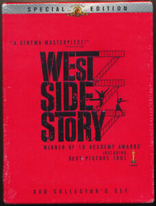 SOLD West Side Story Special Edition Collector 2 DVD Box Set-New