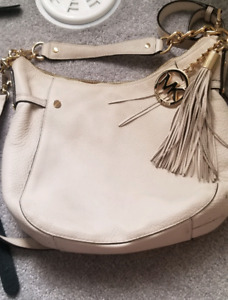 Michael Kors White Purse