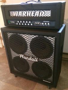 Randall Warhead Dime Dimebag Amplie de Guitare Tete Cabinet 4X12