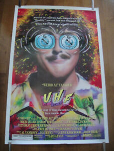 UHF (1989) Original Rolled Movie Poster Weird Al Yankovic