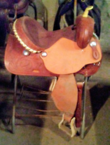 Brand new double T - 15 inch barrel saddle