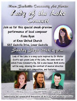 "Sneak-Preview: ""Lady of the Lake"" Concert"