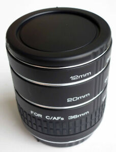 Kenko Extension Tube Set for Canon EOS EF/EFS.