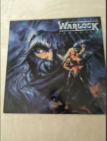 Warlock triumph and agony LP