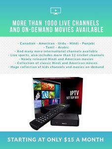 IPTV Set Top Box Mag254 + Subscription