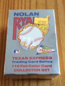 Nolan Ryan 110 Card Collector Set from Pacific - Factory Sealed