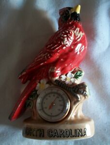 vintage Red Robin souvenir North Carolina thermometer