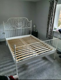 Ikea King bed frame (delivery available