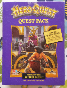 Hero Quest Return of the Witch Lord expansion pack