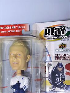 Mats Sundin Toronto Maple Leafs 2001-2002 Bobblehead Playmakers
