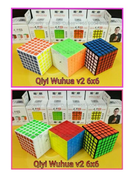 - Qiyi Wuhua v2 6x6 for sale -  Brand New Speedcube