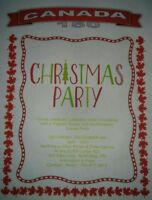 Canadian Christmas Potluck Dinner & Dance - Free to Attend