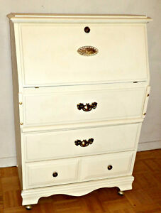 A unique secretary desk/dresser, new paint/restored (Bargain)