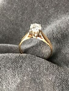 Brilliant 1ct. diamond ring