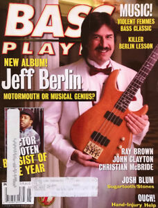 Bass Player Magazines from 1998