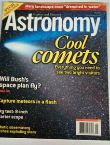 Astronomy Magazines - the lot for $5.00