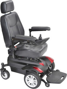 Drive Medical Titan Mobility Power Wheelchair -Used with Batter