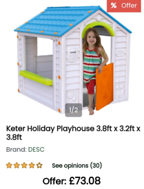 Keter Holiday House