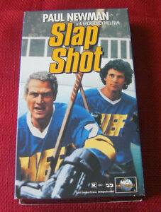 The original Slap Shot with Paul Newman on VHS
