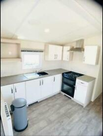 cheap static caravan on Billing Aquadrome with Decking Call James on 07495 66837
