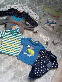 Boys 9-12 month bundle summer