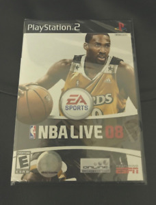 NBA Live 08 - PlayStation 2  *Brand new/Factory Sealed* :)