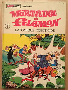 Mortadel et Filemon Latomique insecticide No 1 (1970)
