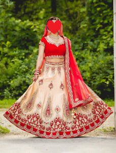 Indian Wedding Bridal Outfit (Lengha)