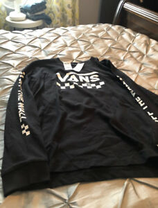 For sale brand new with tags vans long sleeve size large,