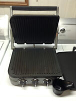 Cuisinart griddle and panini maker