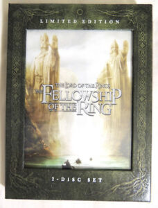 The Lord of the Rings Fellowship of the Ring Limited Edition DVD