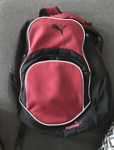 used red puma back pack