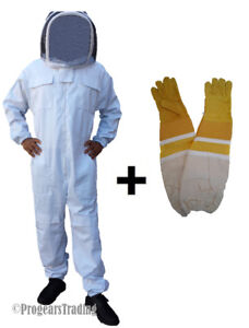 Professional Quality Beekeeping Bee Suit with FREE Gloves