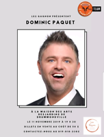 Spectacle Dominic Paquet 2019