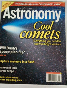 Astronomy Magazines from early 2000s
