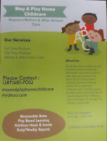 Home Childcare - Spaces Available - Infant Spaces Also