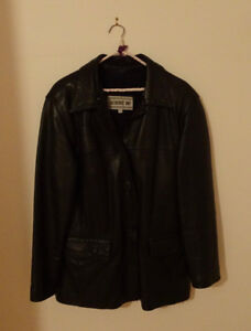 Ladies Medium Leather Jacket