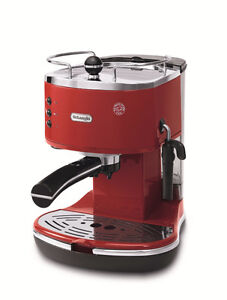 Delonghi ECO 310.R Icona Pump Espresso Coffee Maker Red